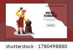 Metal Forging Blacksmith Worke...