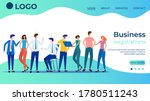 business negotiations.the... | Shutterstock .eps vector #1780511243