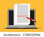online education  creative...   Shutterstock .eps vector #1780520966