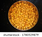 Small photo of indian snacks /Gujarati Smacks/fried chana dal/ home made/healthy chana dal/pic sitable for youtube thumb nail and website