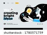 presentation slide template for ... | Shutterstock .eps vector #1780571759
