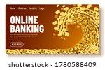 the wave of money. huge tsunami ...   Shutterstock .eps vector #1780588409