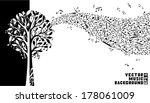 Music Tree Background. Music...
