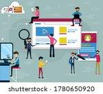 flat design of business the...   Shutterstock .eps vector #1780650920