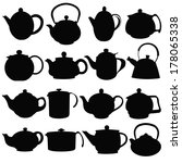 Kettles   Black Silhouettes O...