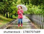 Little Girl With Umbrella...