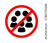 social distancing avoid crowds... | Shutterstock .eps vector #1780720286