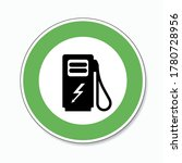 electric charging station... | Shutterstock .eps vector #1780728956