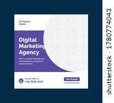 digital business marketing... | Shutterstock .eps vector #1780774043