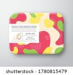 fruits bath cosmetics box.... | Shutterstock .eps vector #1780815479
