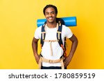 young mountaineer man with... | Shutterstock . vector #1780859519