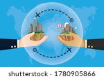 new normal travel bubble ... | Shutterstock .eps vector #1780905866