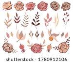 big fall autumn bundle. set of... | Shutterstock .eps vector #1780912106