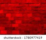 elegant red wall background... | Shutterstock . vector #1780977419
