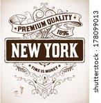 retro label | Shutterstock .eps vector #178099013
