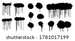 great graffiti spray collection ...   Shutterstock .eps vector #1781017199
