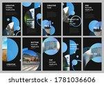 social networks stories design  ... | Shutterstock .eps vector #1781036606