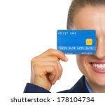 closeup on business woman... | Shutterstock . vector #178104734