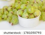 Ripe Green Gooseberry Berry....