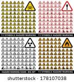 Triangular Warning Hazard 72...