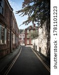 Small photo of The view down Precentor's Court in York, England, just in front of the York Minster.