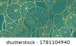 luxury wallpaper design with... | Shutterstock .eps vector #1781104940