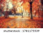 Blurred Background Autumn...