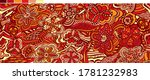 rapport. bright decorative...   Shutterstock .eps vector #1781232983