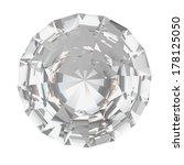 a closeup of a diamond on a... | Shutterstock . vector #178125050
