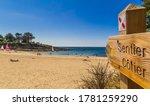 Kerfany Beach In Brittany...