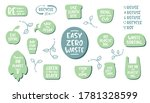collection of ecology stickers...   Shutterstock .eps vector #1781328599