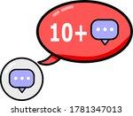 comment symbol that receive...