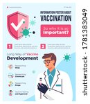 vaccination concept... | Shutterstock .eps vector #1781383049