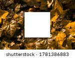 creative layout made ivy leaves ... | Shutterstock . vector #1781386883
