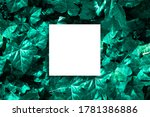 creative layout made ivy leaves ... | Shutterstock . vector #1781386886