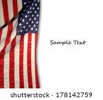 american flag | Shutterstock . vector #178142759