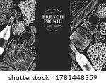 french food illustration design ...   Shutterstock .eps vector #1781448359