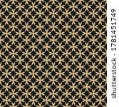 golden grid texture. vector... | Shutterstock .eps vector #1781451749