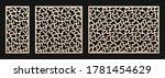 decorative panel for laser...   Shutterstock .eps vector #1781454629