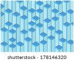 vector illustration of blue... | Shutterstock .eps vector #178146320