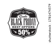 black friday banners sale on...   Shutterstock .eps vector #1781474579