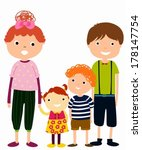 family | Shutterstock .eps vector #178147754
