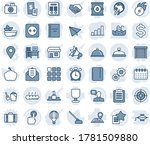 blue tint and shade editable... | Shutterstock .eps vector #1781509880