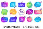 we are hiring banners. join our ...   Shutterstock .eps vector #1781533433