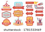 circus labels. carnival and... | Shutterstock .eps vector #1781533469