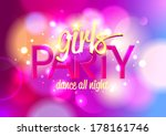 Girl S Party Invitation Or...