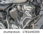 Motorcycle Engine  Close Up ...