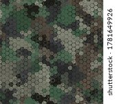 Texture Military Green And...
