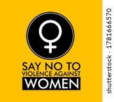 16 days of activism against...   Shutterstock .eps vector #1781666570
