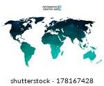 abstract creative concept... | Shutterstock .eps vector #178167428